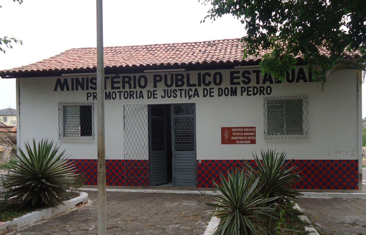Fachada da Promotoria de Dom Pedro