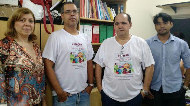 Conselheiros Tutelares Dra. Fabiola e Dr. Gonzaga