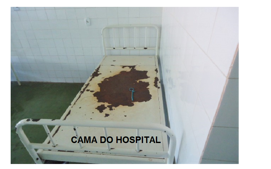 CAMA DO HOSPITAL