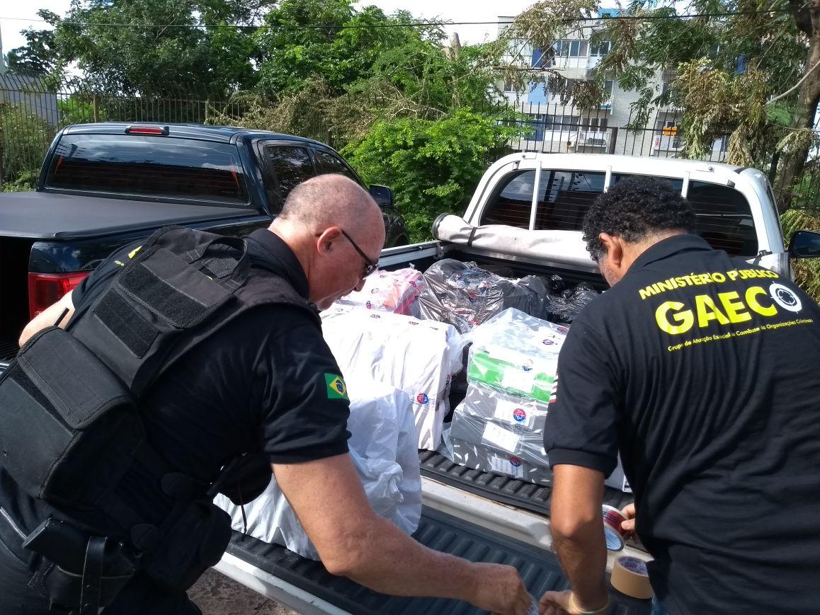 Gaeco e Promotoria de Justiça realizam operação em Santa Quitéria
