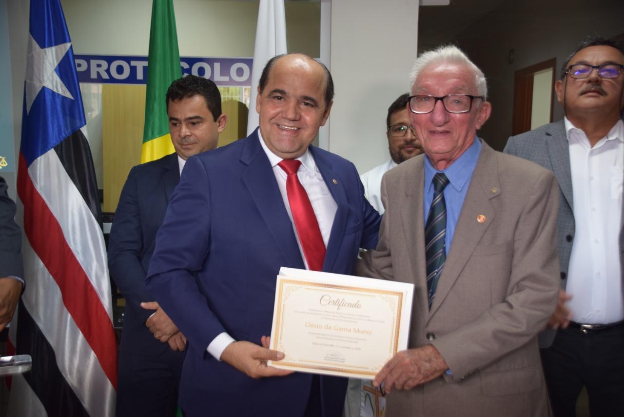 BC certificado Clesio Muniz
