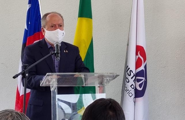 Procurador-geral de justiça, Eduardo Nicolau, presidiu solenidade