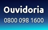 Ligue para ouvidoria: 0800 098 1600