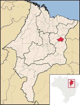 Mapa Aldeias Altas