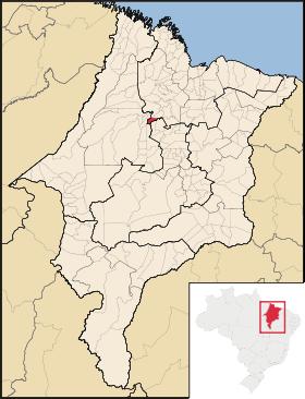 Mapa Bela vista