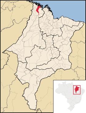 Mapa Candido Mendes
