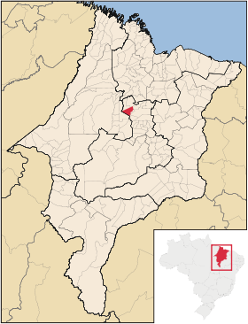 Mapa Olho DAgua das Cunhas