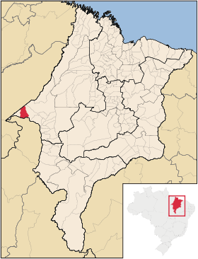 Mapa Vila Nova dos Martirios