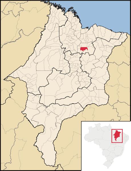 Mapa Cantanhede