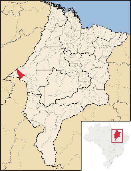 Mapa Cidelândia