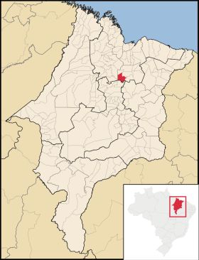 Mapa Matoes do Norte