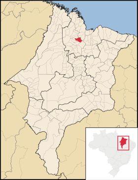 Mapa Sao Joao Batista