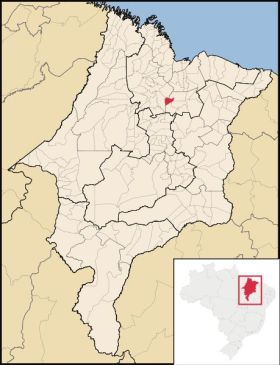 mapa Miranda do Norte