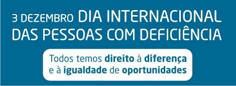 Resultado de imagem para 3 de dezembro Dia Internacional das Pessoas com Deficiência